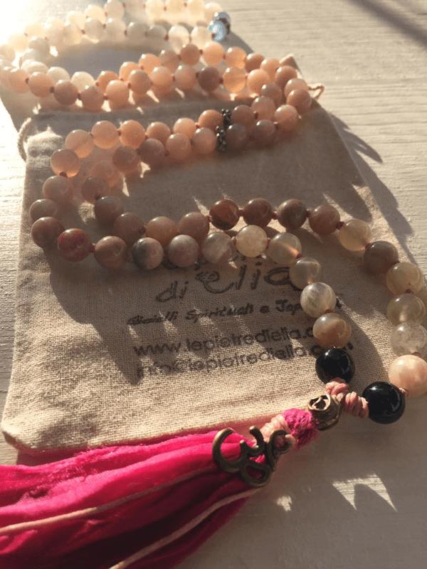 Le Pietre di Elia | Japamala 8 mm